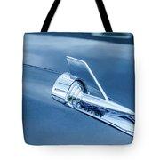 1957 Chevy Bel Air Hood Ornament Tote Bag