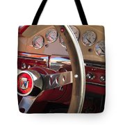 1957 Ford Fairlane Steering Wheel Tote Bag