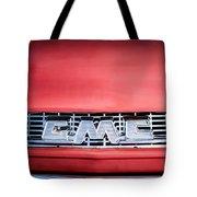 1957 Gmc Pickup Truck Grille Emblem -0329c1 Tote Bag