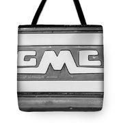 1957 Gmc Pickup Truck Tail Gate Emblem -0272bw2 Tote Bag