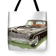 1957 Lincoln Continental Mk II Tote Bag