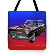 1957 Lincoln M K I I Tote Bag