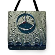 1957 Mercedes Benz 300sl Roadster Emblem Tote Bag by Jill Reger