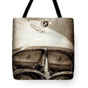 1957 Mercury Turnpike Cruiser Emblem -0749s Tote Bag by Jill Reger