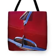 1957 Oldsmobile Hood Ornament 4 Tote Bag