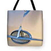 1957 Oldsmobile Hood Ornament 7 Tote Bag