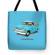 Apache Pick Up Truck Tote Bag