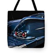 1958 Chevrolet Bel Air Impala Tote Bag