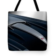 1958 Corvette 'big Block' Hood Tote Bag