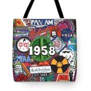 1958 Tote Bag