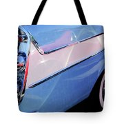 1958 Dodge Sweptside Truck Taillight Tote Bag