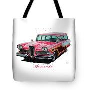 1958 Edsel Bermuda Tote Bag