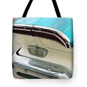 1958 Edsel Pacer Tail Light Tote Bag
