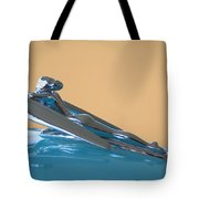 1958 Nash Metropolitan Hood Ornament Tote Bag