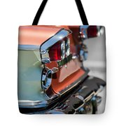1958 Pontiac Bonneville Taillights Tote Bag