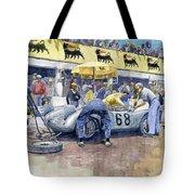 1958 Targa Florio Porsche 718 Rsk Behra Scarlatti 2 Place Tote Bag