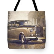 1959-62 Rolls-royce Silver Cloud II Tote Bag