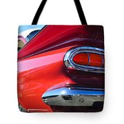 1959 Chevrolet Biscayne Taillight Tote Bag