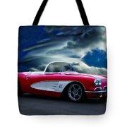 1959 Chevrolet Corvette Convertible II Tote Bag