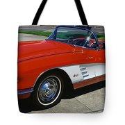 1959 Corvette Tote Bag