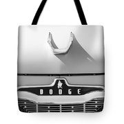 1959 Dodge Coronet Emblem - Hood Ornament -0903bw Tote Bag
