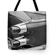 1959 Dodge Custom Royal Super D 500 Taillight -0233bw Tote Bag