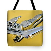1959 Nash Metropolitan Coupe Hood Ornament Tote Bag