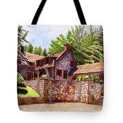#196 Bourn Cottage Tote Bag