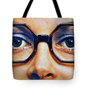 1960 70 Stylish Female Glasses Advertisement 4 Tote Bag