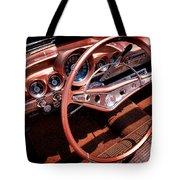 1960 Chevrolet Impala Convertible Tote Bag