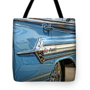 1960 Chevy Impala Tote Bag