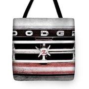 1960 Dodge Truck Grille Emblem -0275ac Tote Bag