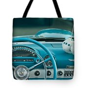 1960 Ford Thunderbird Dash Tote Bag