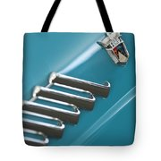 1960 Ford Thunderbird Emblem Tote Bag