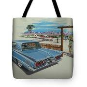 1960 Ford Thunderbird  Tote Bag