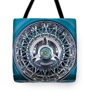 1960 Ford Thunderbird Spare Tire Tote Bag