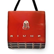 1960 Triumph Tr3 Emblem Tote Bag