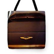1961 Aston Martin Db4 Coupe Emblem Tote Bag