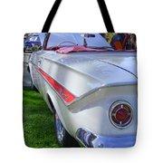 1961 Chevrolet Impala Convertible Tote Bag