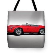 1961 Ferrari Tr61 Corsa Rosso Tote Bag