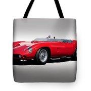 1961 Ferrari Tr61 Rossa Corso Tote Bag