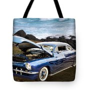 1951 Mercury Classic Car Photograph 005.02 Tote Bag
