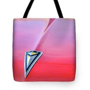 1961 Pontiac Catalina Hood Emblem Tote Bag