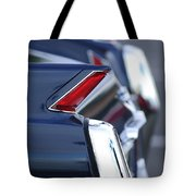 1962 Cadillac Deville Taillights Tote Bag