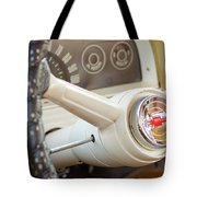 1962 Chevy Stering Wheel Tote Bag
