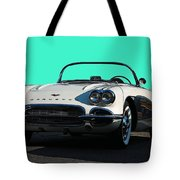 1962 Corvette Tote Bag