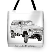 1962 Dodge Powerwagon Tote Bag