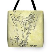 1962 Helicopter Patent Tote Bag