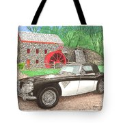1963 Austin And Sudbury Mill Tote Bag