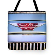 1963 Austin-healey Mark IIi Bj8 Tote Bag